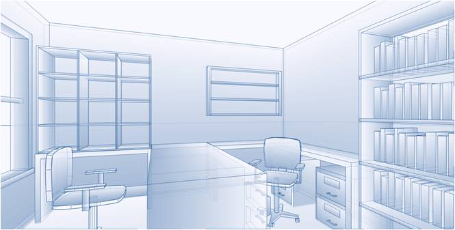 digital design of home office