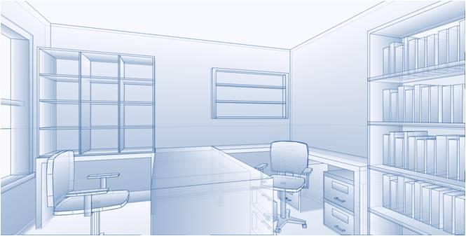 digital design of home office