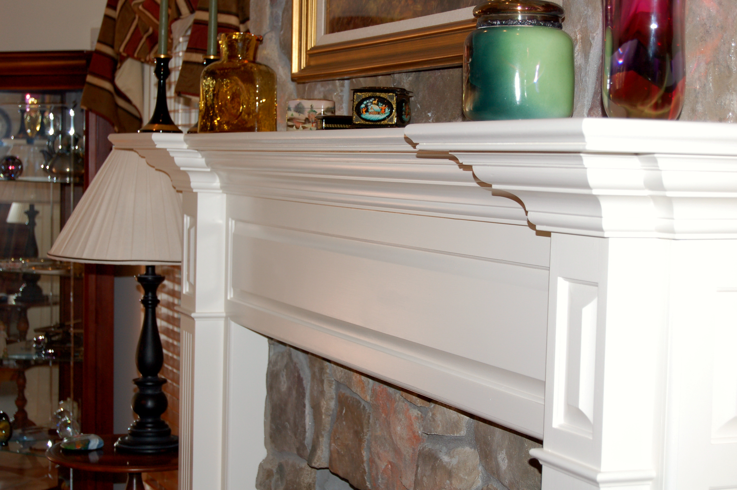 Painted Mantel 47